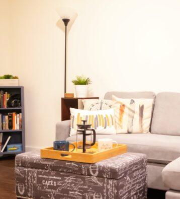 Student apartment livingroom